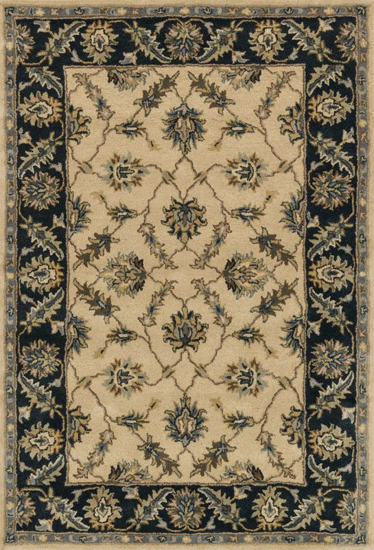 Loloi Rugs Fairfield 27IVNV Hand Made Wool Traditional Area Rug 9 x 12 Sale $1109.00 ITEM: bci2788546 ID#:FAIRHFF27IVNV90C0 UPC: 885369244483 :