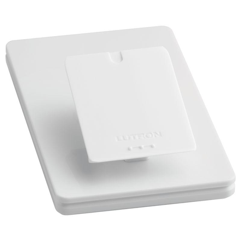 Lutron L-PED1-WH Caseta Wireless Single Tabletop Pedestal for Pico