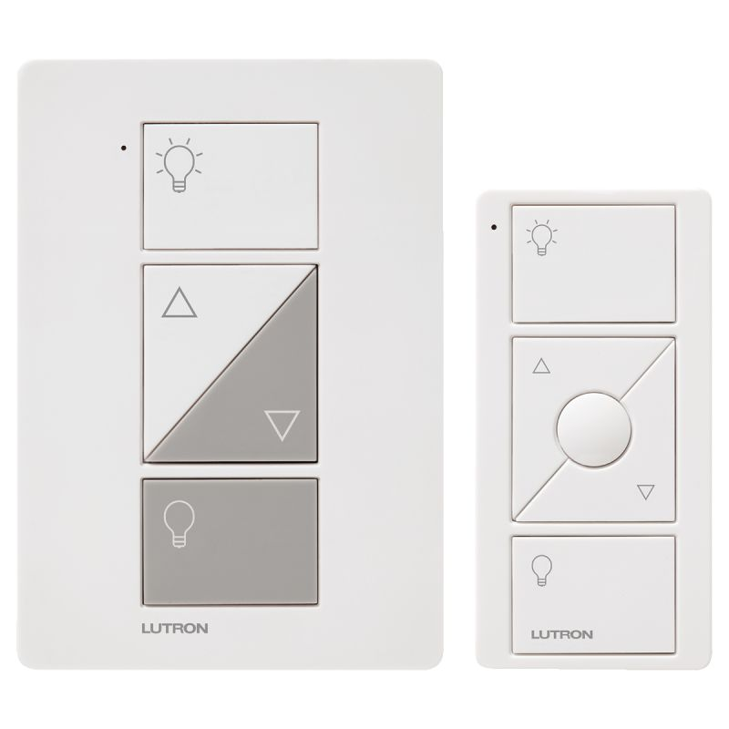 Lutron P-PKG1P-WH-R Caseta Wireless 100-Watt Plug-In Lamp Dimmer Kit