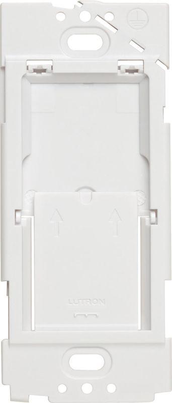 Lutron pico-wbx-adapt Caseta Wireless Pico Wallplate Bracket White