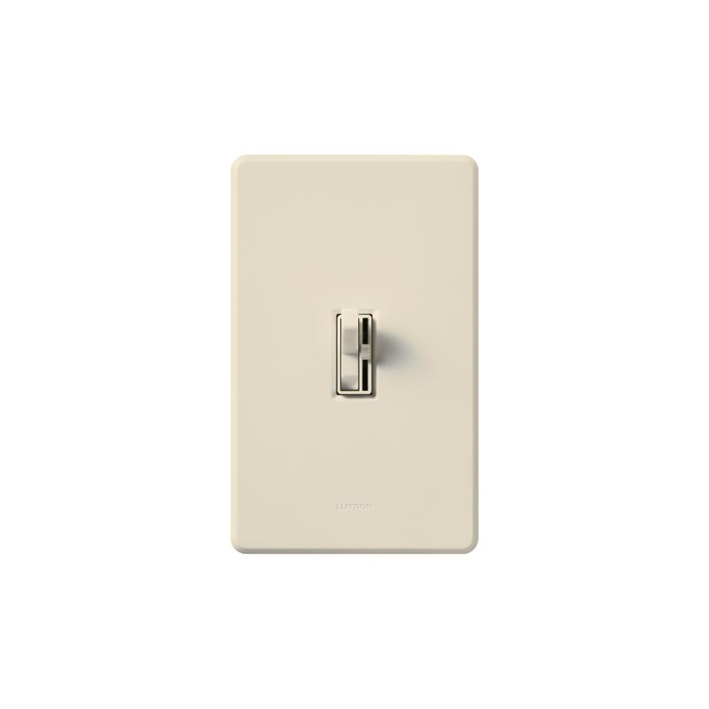 Lutron AY-10P Ariadni 1000 Watt/120 Volt Single Pole Preset Dimmer Sale $39.86 ITEM: bci286909 ID#:AY-10P-LA UPC: 27557366588 Lutron AY-10P Ariadni 1000 Watt/120 Volt Single Pole Preset Dimmer It looks like a traditional light switch at first glance, but is actually a state of the art incandescent/halogen 1000 watt 120 volt single pole dimmer. Featuring a traditional looking light switch paired with a small slider that controls the dimmer level, this unit also includes preset dimming for the perfect light level every time you turn it on. These Lutron dimmers are designed to replace or match your traditional style switches. Save energy and extend bulb life with the Ariadni's easy-to-use toggle switch and small slide dimmer. Designed with a shallow 1-inch deep back cover for easy installation, Ariadni works with your existing traditional multi-gang wall plates. Lutron AY-10P Features: Features toggle switch and small preset slide dimmer Shallow 1-inch deep back cover for easy installation Matching Fassada® gloss wall plates available separately Power failure memory Superior RFI suppression UL and CSA Listed Lutron AY-10P Specifications: Single-Pole Voltage: 120 Wattage: 1000 The story of Lutron began in a makeshift lab in a New York City home in 1959 where Joel Spira emerged with a radical new innovation in home lighting: the solid-state rotary dimmer. In almost 50 years of innovation, Lutron has invented hundreds of lighting control devices and systems, and expanded their product offering from 2 products to 15,000. Lutron dimmers not only set the perfect mood in a home, they also reduce energy consumption and extend lamp life. Taken as a whole, Lutron light controls have reduced electrical use by 9.2 billion kWh, reducing their customers' electric bills by $1 billion annually. The company has advanced the technology of lighting control while focusing on exceptional quality and design. Since the beginning, the company has maintained exceptional service, offering 24-ho