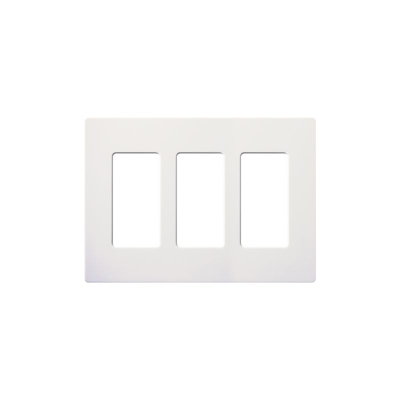 Lutron CW-3-24 Claro Contractor 24 Pack of Three Gang Designer Wall