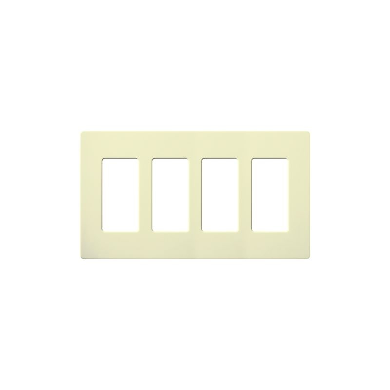 Lutron CW-4-12 Claro Contractor 12 Pack of Four Gang Designer Wall Sale $189.60 ITEM: bci1849998 ID#:CW-4-AL-12 UPC: 27557162197 :
