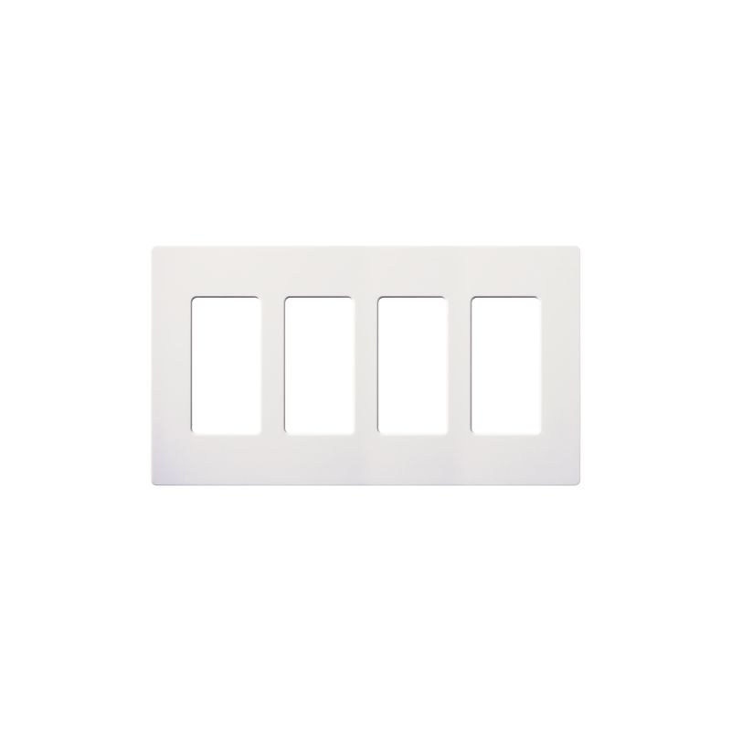Lutron CW-4-12 Claro Contractor 12 Pack of Four Gang Designer Wall