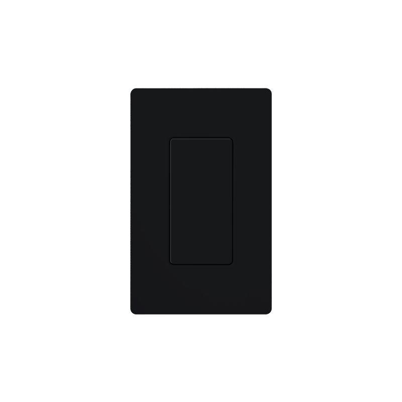 Lutron DV-BI Claro Designer Blank Insert Black Indoor Lighting Wall