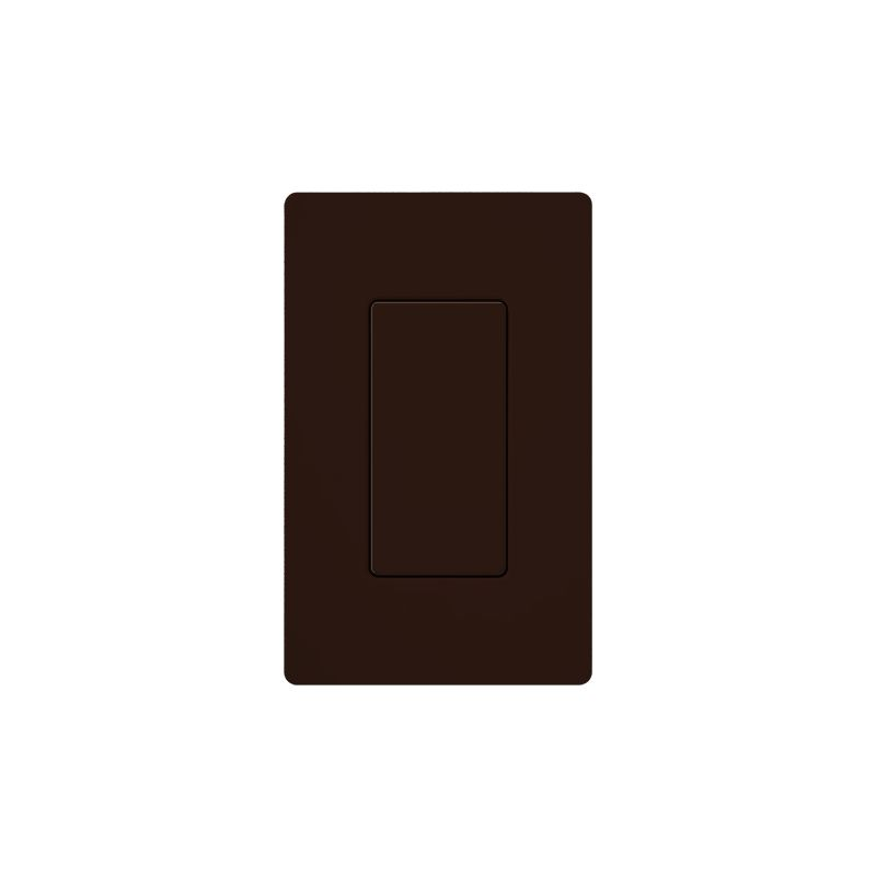 Lutron DV-BI Claro Designer Blank Insert Brown Indoor Lighting Wall