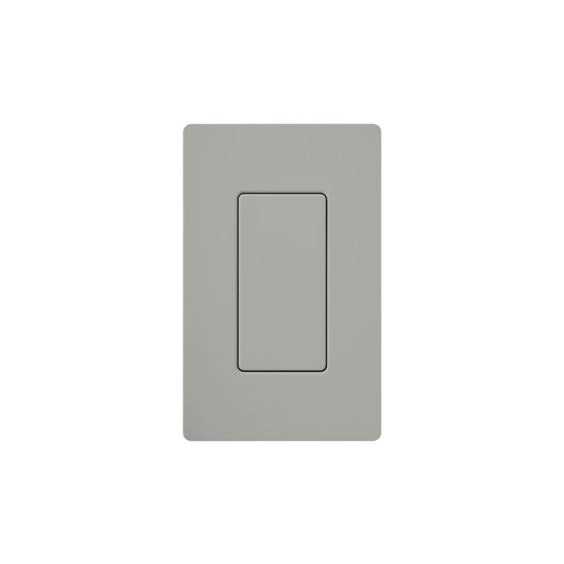 Lutron DV-BI Claro Designer Blank Insert Gray Indoor Lighting Wall