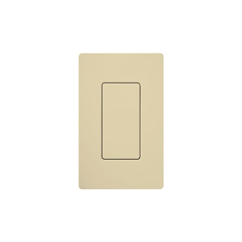 Lutron DV-BI Claro Designer Blank Insert Ivory Indoor Lighting Wall