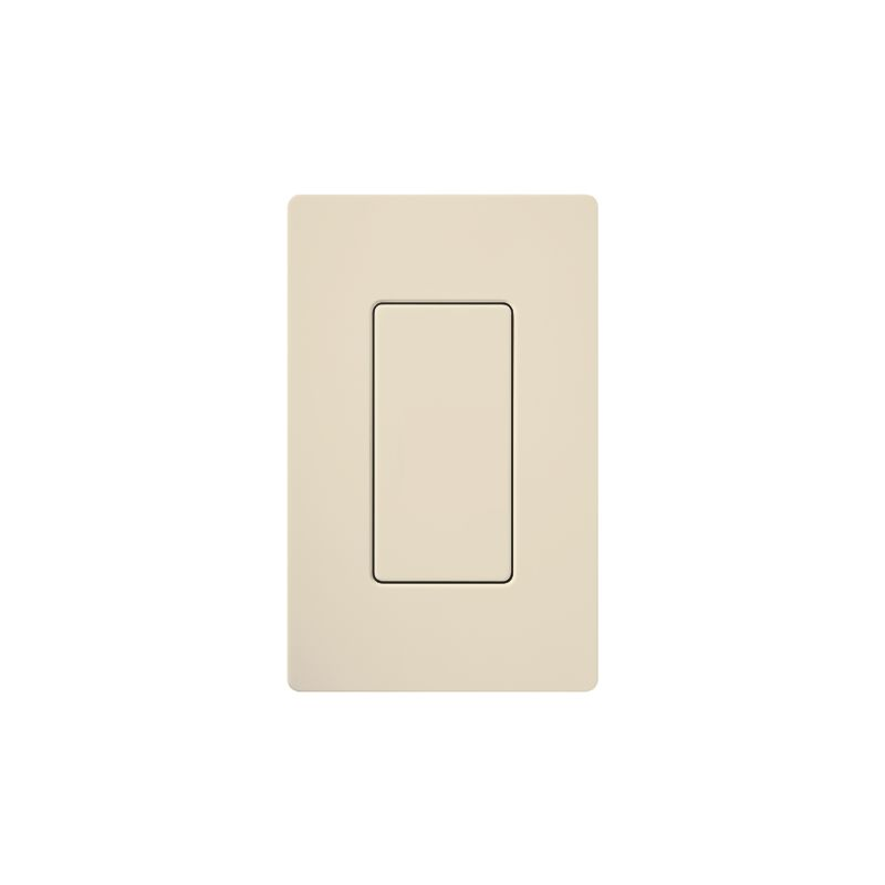 Lutron DV-BI Claro Designer Blank Insert Light Almond Indoor Lighting