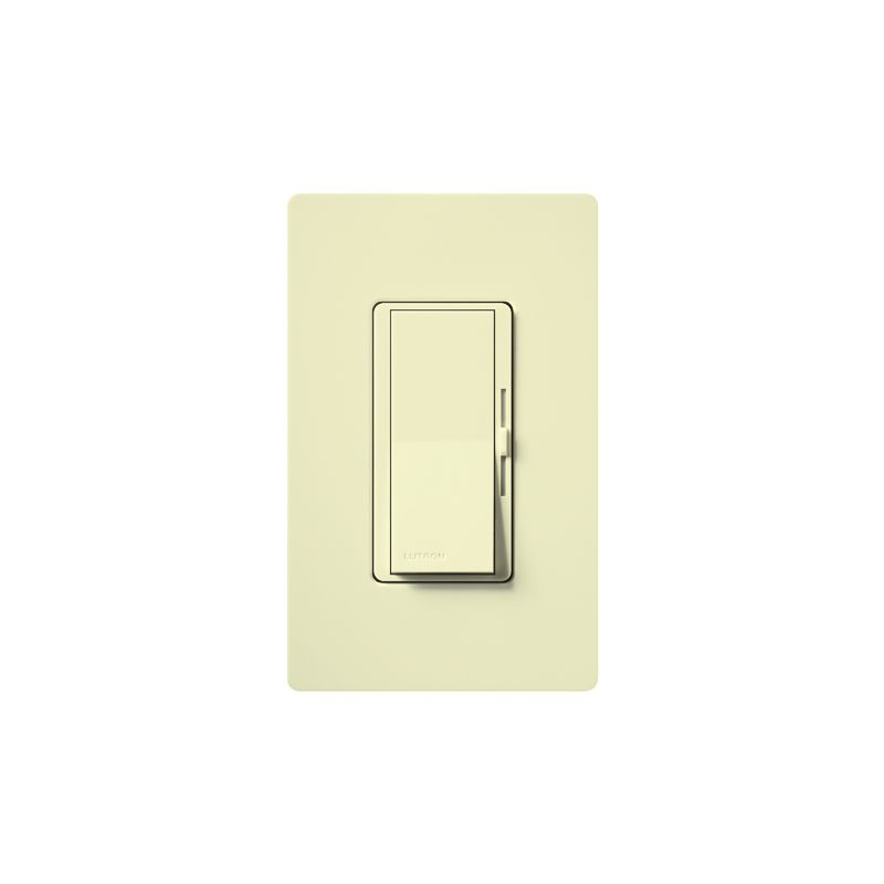 Lutron DVW-603PH Diva 600 Watt 120 Volt 3-Way Incandescent/Halogen Sale $31.44 ITEM: bci1850523 ID#:DVW-603PH-AL UPC: 27557379168 Lutron DVW-603PH Diva 600 Watt 120 Volt 3-Way Incandescent/Halogen Preset Dimmer with Locator Light and wall plate 3-Way 120 volt 600 watt Incandescent/Halogen preset dimmer with locator light and wall plate. The Diva paddle switch automatically returns to your favorite pre-selected light level. A simple and elegant solution designed to match your existing designer style switches and accessories. Easily turn the lights on and off with the paddle switch. Lutron DVW-603PH Features: Matches existing designer-style switches Features a large paddle switch and a small slider 3-Way Model: Lights can be controlled from more than one location Power failure memory Standard RFI suppression UL and CSA Listed Rated at 120 VAC, 60 Hz Lutron DVW-603PH Specifications: 3-Way Voltage: 120 Wattage: 600 The story of Lutron began in a makeshift lab in a New York City home in 1959 where Joel Spira emerged with a radical new innovation in home lighting: the solid-state rotary dimmer. In almost 50 years of innovation, Lutron has invented hundreds of lighting control devices and systems, and expanded their product offering from 2 products to 15,000. Lutron dimmers not only set the perfect mood in a home, they also reduce energy consumption and extend lamp life. Taken as a whole, Lutron light controls have reduced electrical use by 9.2 billion kWh, reducing their customers' electric bills by $1 billion annually. The company has advanced the technology of lighting control while focusing on exceptional quality and design. Since the beginning, the company has maintained exceptional service, offering 24-hour technical support for its products, and a friendly customer service department. :