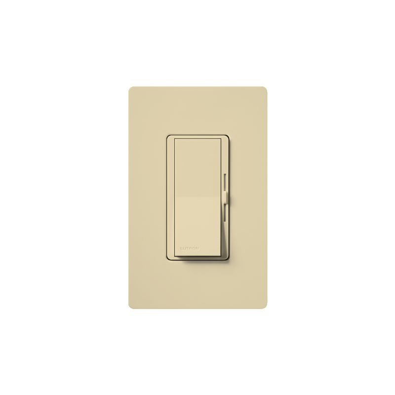 Lutron DVW-603PH Diva 600 Watt 120 Volt 3-Way Incandescent/Halogen Sale $31.44 ITEM: bci1850527 ID#:DVW-603PH-IV UPC: 27557528139 Lutron DVW-603PH Diva 600 Watt 120 Volt 3-Way Incandescent/Halogen Preset Dimmer with Locator Light and wall plate 3-Way 120 volt 600 watt Incandescent/Halogen preset dimmer with locator light and wall plate. The Diva paddle switch automatically returns to your favorite pre-selected light level. A simple and elegant solution designed to match your existing designer style switches and accessories. Easily turn the lights on and off with the paddle switch. Lutron DVW-603PH Features: Matches existing designer-style switches Features a large paddle switch and a small slider 3-Way Model: Lights can be controlled from more than one location Power failure memory Standard RFI suppression UL and CSA Listed Rated at 120 VAC, 60 Hz Lutron DVW-603PH Specifications: 3-Way Voltage: 120 Wattage: 600 The story of Lutron began in a makeshift lab in a New York City home in 1959 where Joel Spira emerged with a radical new innovation in home lighting: the solid-state rotary dimmer. In almost 50 years of innovation, Lutron has invented hundreds of lighting control devices and systems, and expanded their product offering from 2 products to 15,000. Lutron dimmers not only set the perfect mood in a home, they also reduce energy consumption and extend lamp life. Taken as a whole, Lutron light controls have reduced electrical use by 9.2 billion kWh, reducing their customers' electric bills by $1 billion annually. The company has advanced the technology of lighting control while focusing on exceptional quality and design. Since the beginning, the company has maintained exceptional service, offering 24-hour technical support for its products, and a friendly customer service department. :