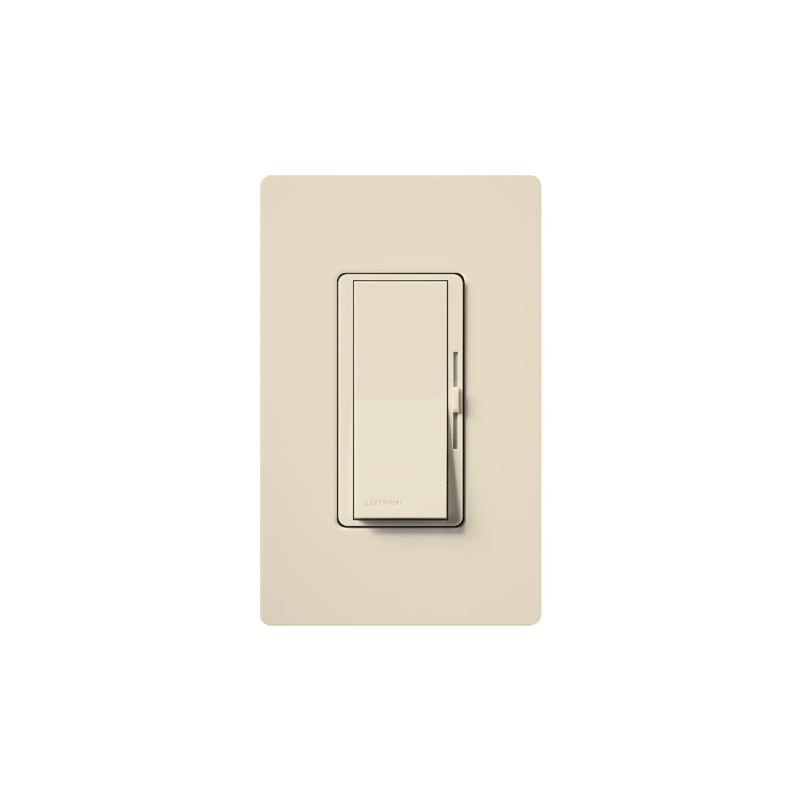 Lutron DVW-603PH Diva 600 Watt 120 Volt 3-Way Incandescent/Halogen Sale $31.44 ITEM: bci1850528 ID#:DVW-603PH-LA UPC: 27557368360 Lutron DVW-603PH Diva 600 Watt 120 Volt 3-Way Incandescent/Halogen Preset Dimmer with Locator Light and wall plate 3-Way 120 volt 600 watt Incandescent/Halogen preset dimmer with locator light and wall plate. The Diva paddle switch automatically returns to your favorite pre-selected light level. A simple and elegant solution designed to match your existing designer style switches and accessories. Easily turn the lights on and off with the paddle switch. Lutron DVW-603PH Features: Matches existing designer-style switches Features a large paddle switch and a small slider 3-Way Model: Lights can be controlled from more than one location Power failure memory Standard RFI suppression UL and CSA Listed Rated at 120 VAC, 60 Hz Lutron DVW-603PH Specifications: 3-Way Voltage: 120 Wattage: 600 The story of Lutron began in a makeshift lab in a New York City home in 1959 where Joel Spira emerged with a radical new innovation in home lighting: the solid-state rotary dimmer. In almost 50 years of innovation, Lutron has invented hundreds of lighting control devices and systems, and expanded their product offering from 2 products to 15,000. Lutron dimmers not only set the perfect mood in a home, they also reduce energy consumption and extend lamp life. Taken as a whole, Lutron light controls have reduced electrical use by 9.2 billion kWh, reducing their customers' electric bills by $1 billion annually. The company has advanced the technology of lighting control while focusing on exceptional quality and design. Since the beginning, the company has maintained exceptional service, offering 24-hour technical support for its products, and a friendly customer service department. :