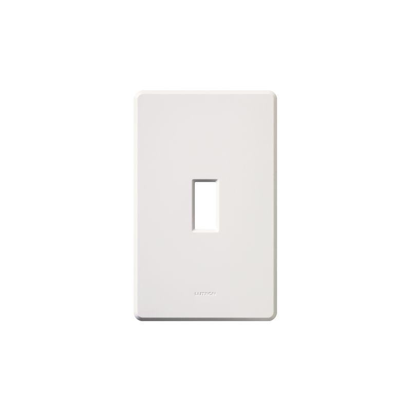 Lutron FG-1 Fassada Single-Gang wall plate White Wall Controls Switch