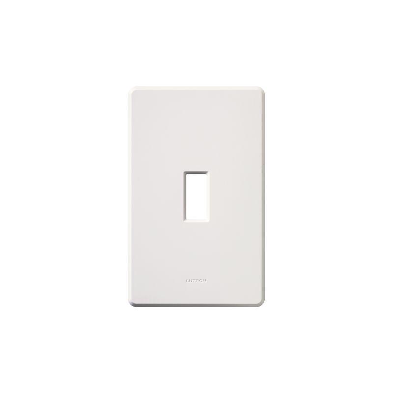 Lutron FG-1 Fassada Single-Gang wall plate White Wall Controls Switch