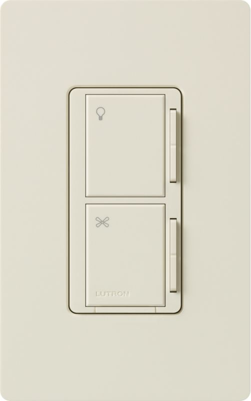 Lutron MA-ALFQ35 Maestro 120 Volt Companion Dual Digital Dimmer / Fan