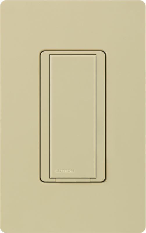 Lutron MA-AS Maestro 120 Volt Companion Switch Ivory Lighting Controls