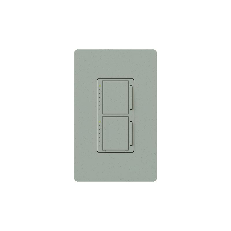 Lutron MA-L3L3 Maestro 120 Volt 300 Watt Single Pole Dual Digital Fade Sale $61.84 ITEM: bci1851941 ID#:MA-L3L3-BG UPC: 27557411578 :