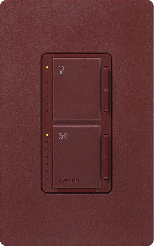 Lutron MA-LFQM Maestro 120 Volt 300 Watt 1 Ampere Dual Digital Dimmer
