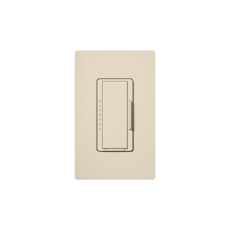 Lutron MAW-600H 120 Volt 600 Watt Single Pole Incandescent / Halogen Sale $32.78 ITEM: bci342542 ID#:MAW-600H-LA UPC: 27557744508 120 Volt 600 Watt Single Pole Incandescent / Halogen Digital Fade Dimmer with Clamshell Packaging and Included Faceplate from the Maestro Collection At the touch of a button, dimmer can go immediately to a favorite preset light level, fade-to-off, or adjust manually. Clamshell packed 120 Volt, 600 watt, incandescent or halogen model with faceplate included. The Maestro dimmer provides an easy-to-operate tap switch that turns lights on/off to your favorite light level. Use the rocker dimmer to adjust lights manually. The delayed fade-to-off feature gives you 10-60 seconds to leave the room. Combine with Maestro companion dimmers to control a single light from up to 10 locations. Features: Maestro offers a full range of designer light controls, fan controls, and timers that allow you to adjust your lights and fans from anywhere in the room and even outside your home. High-performance personalized light control with additional advanced programming options. Dimmers offer customizable delayed fade-to-off, which lets you leave a room before the lights go out. LEDs glow softly in the dark for easy dimmer location and show preset light level when lights are off. Multi-location dimming compatible with 3-way wiring for easy installation and retrofit. Add companion dimmers to dim from up to 10 locations. Power failure memory (Maestro remembers your settings even after a power interruption). Superior suppression of interference with radio and TV. Model available with eco-dim® feature (dimmer guarantees you at least 15% energy savings compared to a standard switch). Matching Claro® gloss or Satin Colors® wall plates available for 1-gang up to 6-gang sizes. Underwriters Laboratories and Canadian Standards Association listed. Lutron controls are rated at 120 VAC, 60 Hz unless otherwise noted. Faceplate Included. Specifications: Voltage: 120 Wattage: 600 Type: Single Pole :