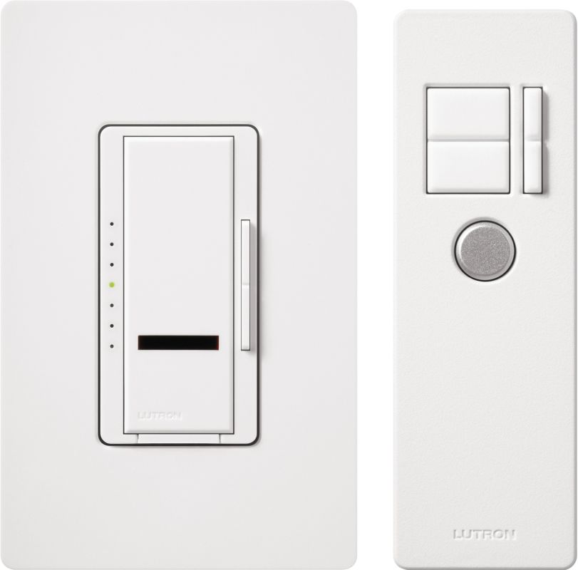 Lutron MIR-T-WH 120 Volt Single Pole Incandescent / Halogen Digital