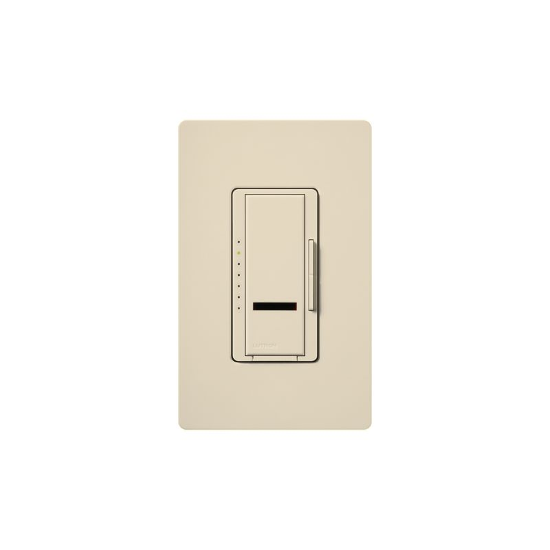 Lutron MIR-FQ4FMT Maestro IR 120 Volt 4 Ampere Single Pole / Multi Sale $112.87 ITEM: bci1852209 ID#:MIR-FQ4FMT-ES UPC: 27557291521 Lutron MIR-FQ4FMT Maestro IR 120 Volt 4 Ampere Single Pole / Multi Location Digital Quiet 7-speed IR Fan Control for up to 4 Fans with Included IR Remote Quiet 7-speed setting delivers enhanced comfort. 1 amp per fan, controls up to 4 fans. Maestro IR fan controls provide convenient control of up to 4 fans, all from an intuitive remote control (MIR-ITFS-F). The Maestro IR fan/light controls work with virtually all existing wiring and coordinate with the entire family of Maestro® dimmers, switches and accessories The Maestro IR dimmer and remote provides convenient infrared remote control of lighting. The dimmer is part of the Maestro family of light controls, fan controls, and timers. Maestro IR comes in a full range of colors, so dimmers complement any décor. Lutron MIR-FQ4FMT Features: LEDs glow softly to find dimmer easily in the dark and show preset level when the fan is off - only applies to model with fan & light Maestro IR provides infrared remote control of fans and offers 7 quiet speeds for enhanced comfort Power failure memory — Maestro IR remembers your settings even after a power interruption Recall your favorite fan speed as you enter the room Adjust fan speed from up to 3 locations Works with virtually all existing wiring Use the canopy module to control light & fan independently from a single switch To control multiple fans, use one canopy module per fan Maestro IR offers a full range of designer controls that allow you to adjust your fans and lights from anywhere in the room IR Remote Control Included Lutron MIR-FQ4FMT Specifications: Multi-Location Amperage: 4 Voltage: 120 The story of Lutron began in a makeshift lab in a New York City home in 1959 where Joel Spira emerged with a radical new innovation in home lighting: the solid-state rotary dimmer. In almost 50 years of innovation, Lutron has invented hundreds of lighting control devices and systems, and expanded their product offering from 2 products to 15,000. Lutron dimmers not only set the perfect mood in a home, they also reduce energy consumption and extend lamp life. Taken as a whole, Lutron light controls have reduced electrical use by 9.2 billion kWh, reducing their customers' electric bills by $1 billion annually. The company has advanced the technology of lighting control while focusing on exceptional quality and design. Since the beginning, the company has maintained exceptional service, offering 24-hour technical support for its products, and a friendly customer service department. :