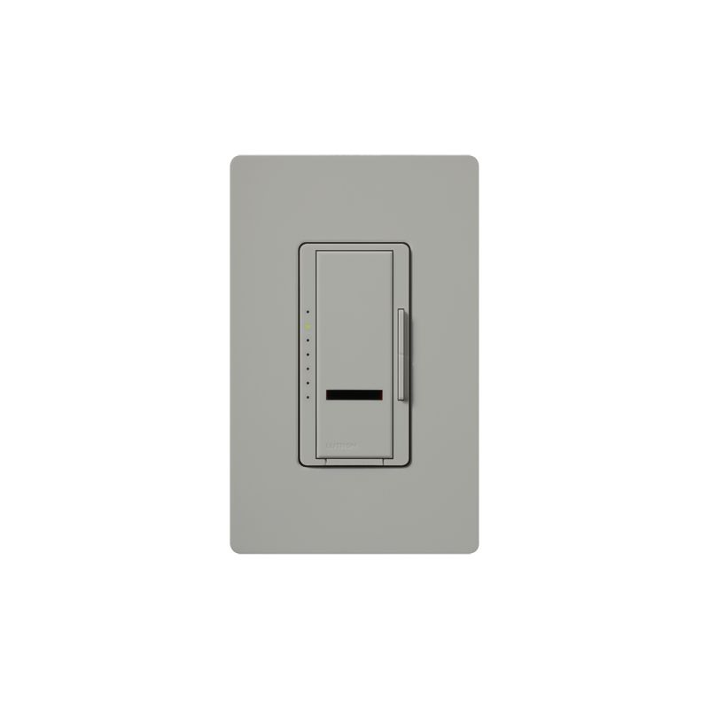 Lutron MIR-FQ4FMT Maestro IR 120 Volt 4 Ampere Single Pole / Multi Sale $108.17 ITEM: bci1852211 ID#:MIR-FQ4FMT-GR UPC: 27557291477 Lutron MIR-FQ4FMT Maestro IR 120 Volt 4 Ampere Single Pole / Multi Location Digital Quiet 7-speed IR Fan Control for up to 4 Fans with Included IR Remote Quiet 7-speed setting delivers enhanced comfort. 1 amp per fan, controls up to 4 fans. Maestro IR fan controls provide convenient control of up to 4 fans, all from an intuitive remote control (MIR-ITFS-F). The Maestro IR fan/light controls work with virtually all existing wiring and coordinate with the entire family of Maestro® dimmers, switches and accessories The Maestro IR dimmer and remote provides convenient infrared remote control of lighting. The dimmer is part of the Maestro family of light controls, fan controls, and timers. Maestro IR comes in a full range of colors, so dimmers complement any décor. Lutron MIR-FQ4FMT Features: LEDs glow softly to find dimmer easily in the dark and show preset level when the fan is off - only applies to model with fan & light Maestro IR provides infrared remote control of fans and offers 7 quiet speeds for enhanced comfort Power failure memory — Maestro IR remembers your settings even after a power interruption Recall your favorite fan speed as you enter the room Adjust fan speed from up to 3 locations Works with virtually all existing wiring Use the canopy module to control light & fan independently from a single switch To control multiple fans, use one canopy module per fan Maestro IR offers a full range of designer controls that allow you to adjust your fans and lights from anywhere in the room IR Remote Control Included Lutron MIR-FQ4FMT Specifications: Multi-Location Amperage: 4 Voltage: 120 The story of Lutron began in a makeshift lab in a New York City home in 1959 where Joel Spira emerged with a radical new innovation in home lighting: the solid-state rotary dimmer. In almost 50 years of innovation, Lutron has invented hundreds of lighting control devices and systems, and expanded their product offering from 2 products to 15,000. Lutron dimmers not only set the perfect mood in a home, they also reduce energy consumption and extend lamp life. Taken as a whole, Lutron light controls have reduced electrical use by 9.2 billion kWh, reducing their customers' electric bills by $1 billion annually. The company has advanced the technology of lighting control while focusing on exceptional quality and design. Since the beginning, the company has maintained exceptional service, offering 24-hour technical support for its products, and a friendly customer service department. :