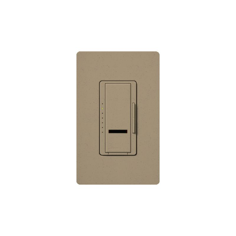 Lutron MIR-FQ4FMT Maestro IR 120 Volt 4 Ampere Single Pole / Multi Sale $112.87 ITEM: bci1852219 ID#:MIR-FQ4FMT-MS UPC: 27557281409 Lutron MIR-FQ4FMT Maestro IR 120 Volt 4 Ampere Single Pole / Multi Location Digital Quiet 7-speed IR Fan Control for up to 4 Fans with Included IR Remote Quiet 7-speed setting delivers enhanced comfort. 1 amp per fan, controls up to 4 fans. Maestro IR fan controls provide convenient control of up to 4 fans, all from an intuitive remote control (MIR-ITFS-F). The Maestro IR fan/light controls work with virtually all existing wiring and coordinate with the entire family of Maestro® dimmers, switches and accessories The Maestro IR dimmer and remote provides convenient infrared remote control of lighting. The dimmer is part of the Maestro family of light controls, fan controls, and timers. Maestro IR comes in a full range of colors, so dimmers complement any décor. Lutron MIR-FQ4FMT Features: LEDs glow softly to find dimmer easily in the dark and show preset level when the fan is off - only applies to model with fan & light Maestro IR provides infrared remote control of fans and offers 7 quiet speeds for enhanced comfort Power failure memory — Maestro IR remembers your settings even after a power interruption Recall your favorite fan speed as you enter the room Adjust fan speed from up to 3 locations Works with virtually all existing wiring Use the canopy module to control light & fan independently from a single switch To control multiple fans, use one canopy module per fan Maestro IR offers a full range of designer controls that allow you to adjust your fans and lights from anywhere in the room IR Remote Control Included Lutron MIR-FQ4FMT Specifications: Multi-Location Amperage: 4 Voltage: 120 The story of Lutron began in a makeshift lab in a New York City home in 1959 where Joel Spira emerged with a radical new innovation in home lighting: the solid-state rotary dimmer. In almost 50 years of innovation, Lutron has invented hundreds of lighting control devices and systems, and expanded their product offering from 2 products to 15,000. Lutron dimmers not only set the perfect mood in a home, they also reduce energy consumption and extend lamp life. Taken as a whole, Lutron light controls have reduced electrical use by 9.2 billion kWh, reducing their customers' electric bills by $1 billion annually. The company has advanced the technology of lighting control while focusing on exceptional quality and design. Since the beginning, the company has maintained exceptional service, offering 24-hour technical support for its products, and a friendly customer service department. :