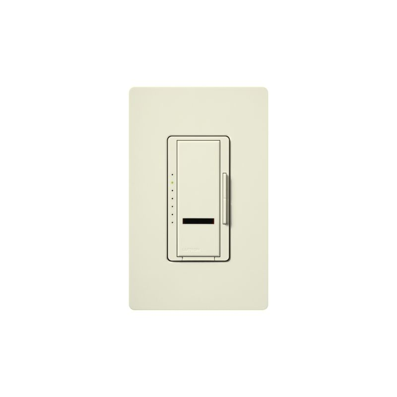 Lutron MIRLV-1000 Maestro IR 120 Volt 800 Watt Single Pole Magnetic Sale $106.53 ITEM: bci1852554 ID#:MIRLV-1000-BI UPC: 27557211178 Lutron MIRLV-1000 Maestro IR 120 Volt 800 Watt Single Pole Magnetic Low Voltage Digital Fade Dimmer Control your low-voltage lighting situation with the touch of a button remotely with this 120 volt 1000VA (800 watt) single-location digital fade dimmer with infrared receiver. Easily control this light from within a 30 foot line of sight with compatible IR remote (MIR-ITFS) (sold separately). The Maestro IR dimmer and remote provides convenient infrared remote control of lighting. The dimmer is part of the Maestro family of light controls, fan controls, and timers. Maestro IR comes in a full range of colors, so dimmers complement any décor. Lutron MIRLV-1000 Features: Works with most learning remotes including the Lutron (MIR-ITFS) (sold separately) LEDs glow softly in the dark so you can easily find the dimmer Delayed fade to off lets you leave the room before the lights go out Use companion dimmers to dim from up to 10 locations Select your favorite light level for any activity with a touch of the silver button on the remote Tap once for favorite level; tap twice for full on Touch rocker to adjust light level Controls up to 1000W Available in 27 colors Coordinating Claro wall plates available separately Matching switches, fan controls, and accessories available Maestro IR Remote not include Requires a neutral wire Some fixture manufacturers do not recommend dimming their solid state transformers Please check with the manufacturer Use only to control one of the following scenarios: (1) the primary side of electronic transformer-supplied low voltage lighting; (2) incandescent lamps; or (3) a combination of the two In multi-phase applications, use a separate neutral with each phase containing a dimmed circuit Do not connect to receptacles, fluorescent fixtures, motor-operated appliances or transformer-supplied appliances Lutron MIRLV-1000 Specifications: Single-Pole Voltage: 120 Wattage: 600 The story of Lutron began in a makeshift lab in a New York City home in 1959 where Joel Spira emerged with a radical new innovation in home lighting: the solid-state rotary dimmer. In almost 50 years of innovation, Lutron has invented hundreds of lighting control devices and systems, and expanded their product offering from 2 products to 15,000. Lutron dimmers not only set the perfect mood in a home, they also reduce energy consumption and extend lamp life. Taken as a whole, Lutron light controls have reduced electrical use by 9.2 billion kWh, reducing their customers' electric bills by $1 billion annually. The company has advanced the technology of lighting control while focusing on exceptional quality and design. Since the beginning, the company has maintained exceptional service, offering 24-hour technical support for its products, and a friendly customer service department. :