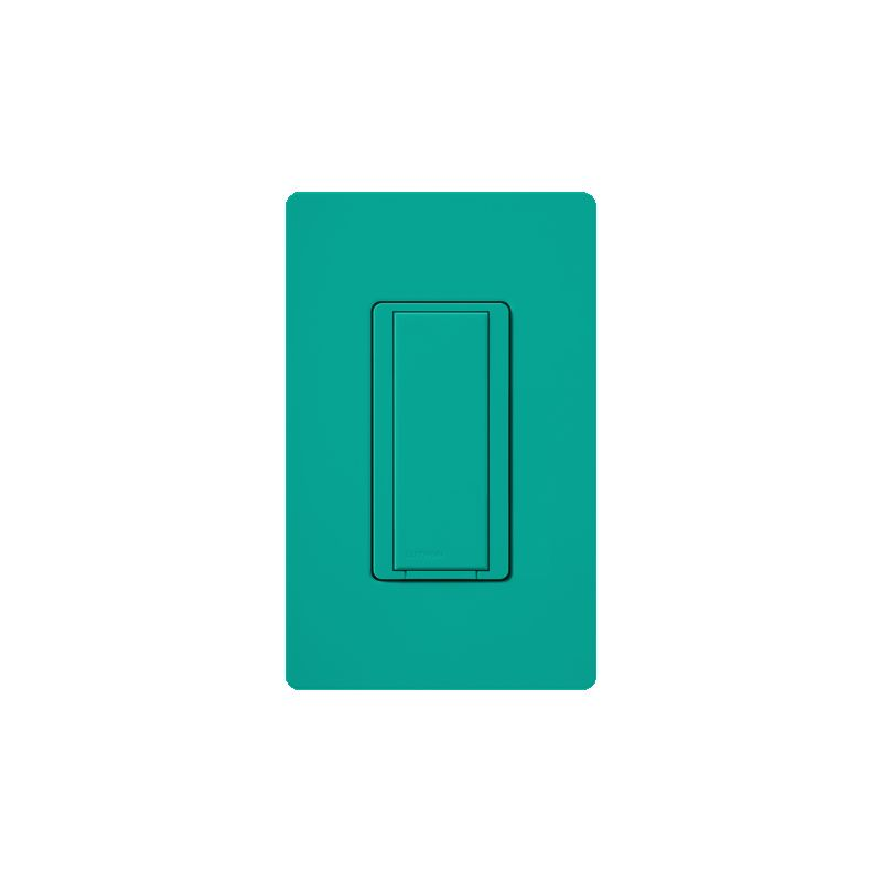 Lutron MA-AS Maestro 120 Volt Companion Switch Turquoise Lighting