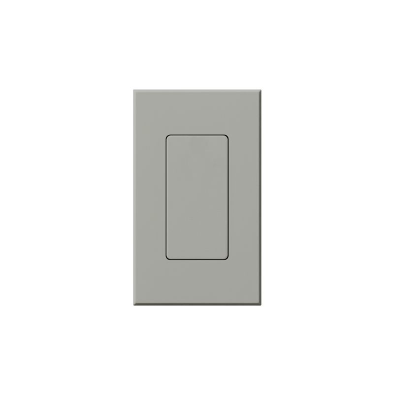 Lutron NT-BI Nova T Blank Insert Gray Indoor Lighting Wall Plates