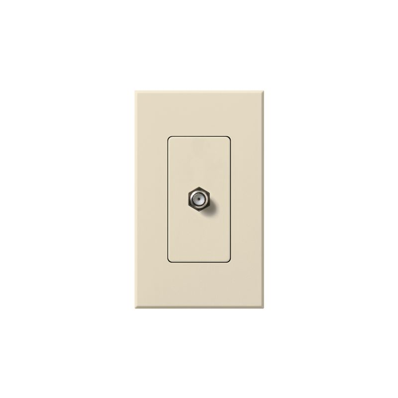 Lutron NT-CJ Nova T Coaxial Cable Jack wall plate Insert with Single Sale $22.20 ITEM: bci1853721 ID#:NT-CJ-LA UPC: 27557092647 :