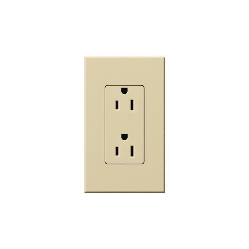Lutron NTR-15 Architectural 125 Volt 15 Ampere Duplex Receptacle for Sale $19.07 ITEM: bci1854229 ID#:NTR-15-IV UPC: 27557679114 :