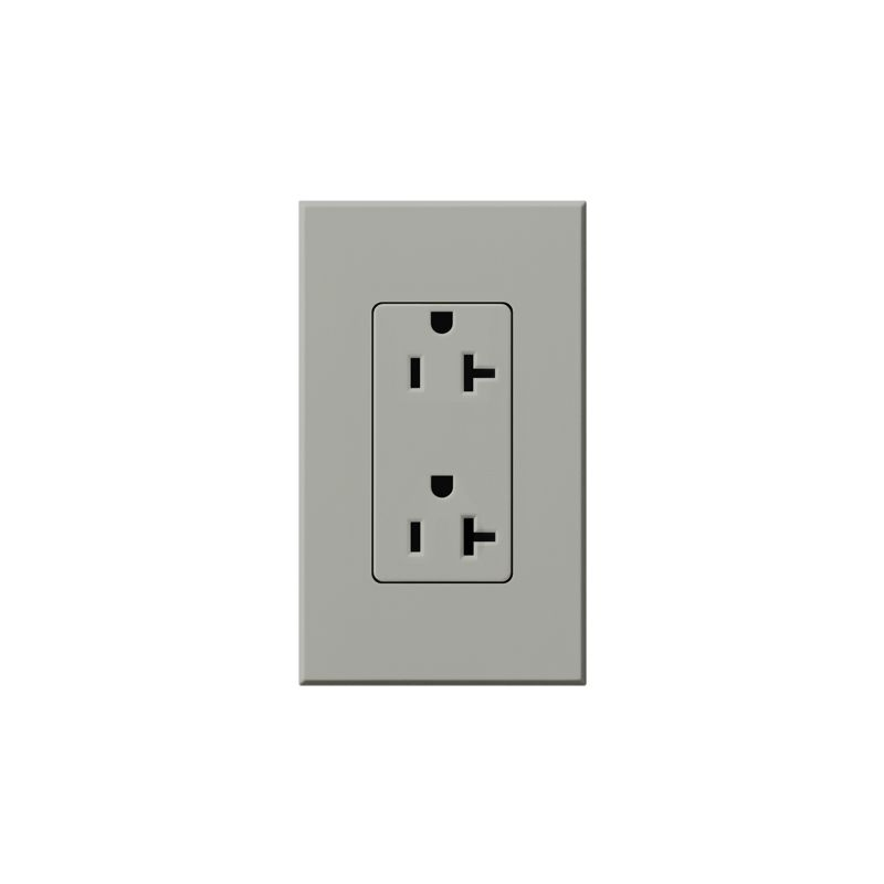 Lutron NTR-20 Architectural 125 Volt 20 Ampere Duplex Receptacle for Sale $37.85 ITEM: bci1854278 ID#:NTR-20-GR UPC: 27557679169 Lutron NTR-20 Architectural 125 Volt 20 Ampere Duplex Receptacle for Non-Dimming Use Non-dimming 20 amp 125 volt duplex receptacle. Lutron NTR-20 Features: The isolated ground receptacle is orange, while the wall plate is your specified color Available in 10 colors Includes 1-gang wall plate 20A model Amperage: 20 Voltage: 125 The story of Lutron began in a makeshift lab in a New York City home in 1959 where Joel Spira emerged with a radical new innovation in home lighting: the solid-state rotary dimmer. In almost 50 years of innovation, Lutron has invented hundreds of lighting control devices and systems, and expanded their product offering from 2 products to 15,000. Lutron dimmers not only set the perfect mood in a home, they also reduce energy consumption and extend lamp life. Taken as a whole, Lutron light controls have reduced electrical use by 9.2 billion kWh, reducing their customers' electric bills by $1 billion annually. The company has advanced the technology of lighting control while focusing on exceptional quality and design. Since the beginning, the company has maintained exceptional service, offering 24-hour technical support for its products, and a friendly customer service department. :