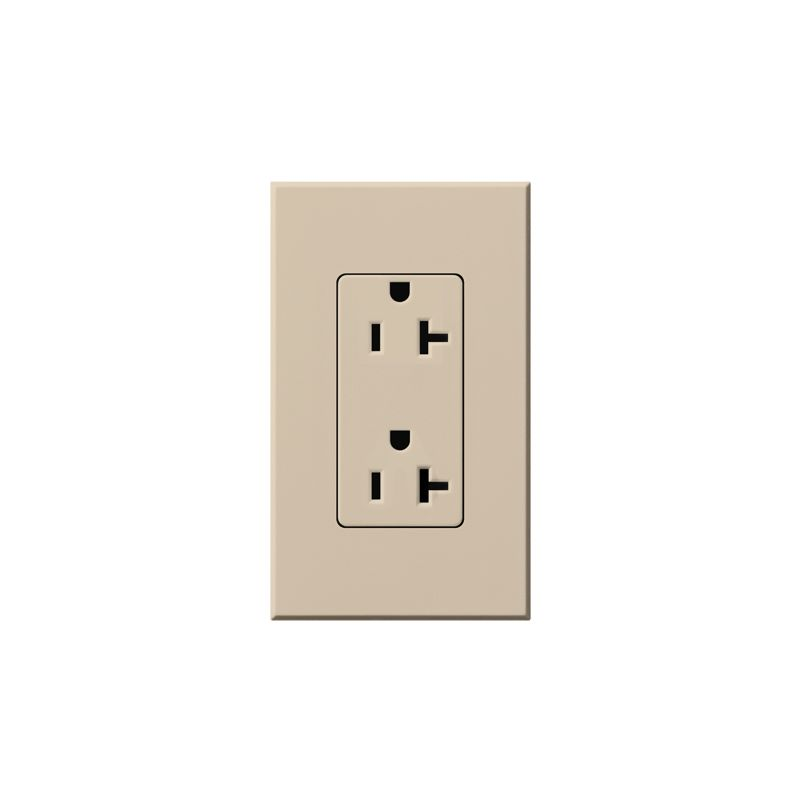 Lutron NTR-20 Architectural 125 Volt 20 Ampere Duplex Receptacle for Sale $37.85 ITEM: bci1854312 ID#:NTR-20-TP UPC: 27557477789 Lutron NTR-20 Architectural 125 Volt 20 Ampere Duplex Receptacle for Non-Dimming Use Non-dimming 20 amp 125 volt duplex receptacle. Lutron NTR-20 Features: The isolated ground receptacle is orange, while the wall plate is your specified color Available in 10 colors Includes 1-gang wall plate 20A model Amperage: 20 Voltage: 125 The story of Lutron began in a makeshift lab in a New York City home in 1959 where Joel Spira emerged with a radical new innovation in home lighting: the solid-state rotary dimmer. In almost 50 years of innovation, Lutron has invented hundreds of lighting control devices and systems, and expanded their product offering from 2 products to 15,000. Lutron dimmers not only set the perfect mood in a home, they also reduce energy consumption and extend lamp life. Taken as a whole, Lutron light controls have reduced electrical use by 9.2 billion kWh, reducing their customers' electric bills by $1 billion annually. The company has advanced the technology of lighting control while focusing on exceptional quality and design. Since the beginning, the company has maintained exceptional service, offering 24-hour technical support for its products, and a friendly customer service department. :