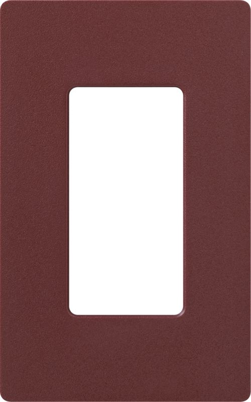 Lutron CW-1 Claro Single Gang Designer Wall Plate Merlot Wall Controls Sale $8.64 ITEM: bci1855849 ID#:SC-1-MR UPC: 27557172776 :