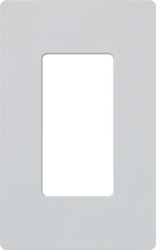 Lutron CW-1 Claro Single Gang Designer Wall Plate Palladium Wall