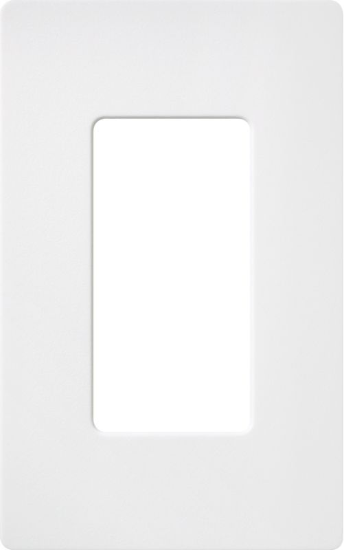 Lutron CW-1 Claro Single Gang Designer Wall Plate Snow Wall Controls Sale $8.64 ITEM: bci1855856 ID#:SC-1-SW UPC: 27557508285 :