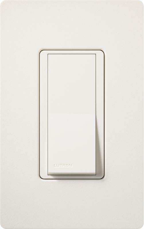 Lutron CA-1PSH Claro Single Pole Designer Switch Biscuit Lighting