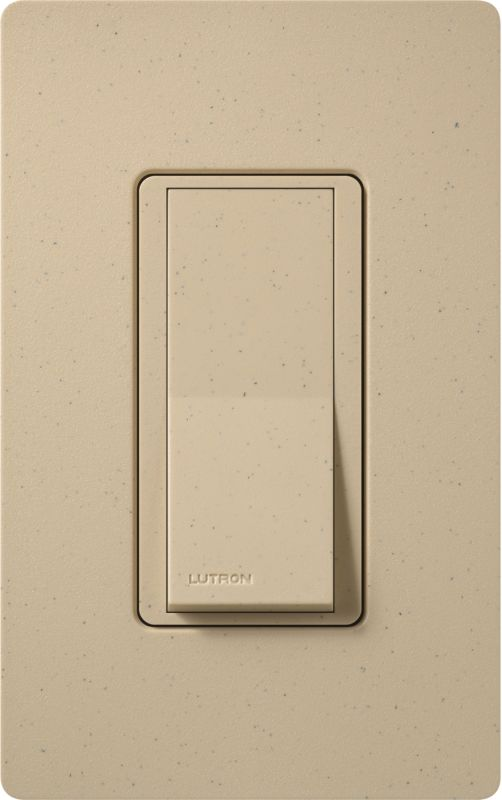Lutron CA-1PSH Claro Single Pole Designer Switch Desert Stone Lighting