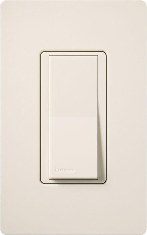Lutron CA-1PSH Claro Single Pole Designer Switch Eggshell Lighting