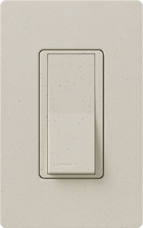 Lutron CA-1PSH Claro Single Pole Designer Switch Limestone Lighting