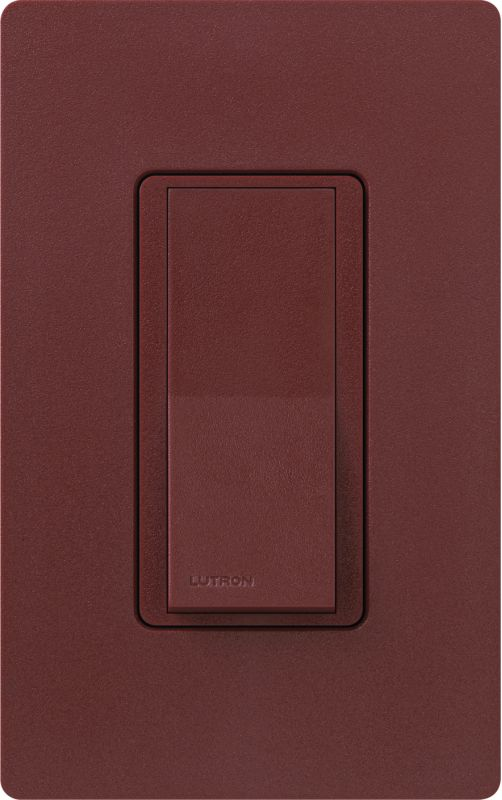 Lutron CA-1PSH Claro Single Pole Designer Switch Merlot Lighting