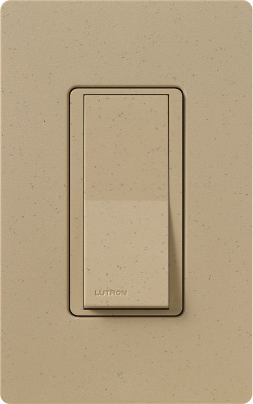 Lutron CA-1PSH Claro Single Pole Designer Switch Mocha Stone Lighting