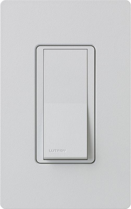Lutron CA-1PSH Claro Single Pole Designer Switch Palladium Lighting