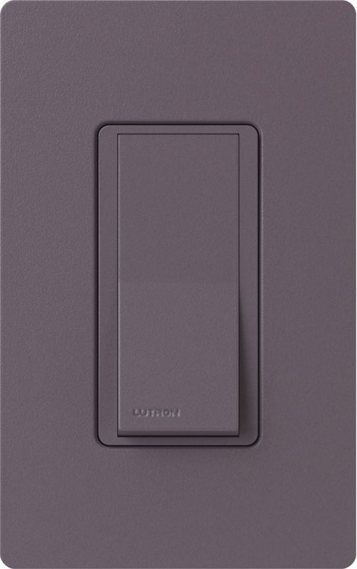 Lutron CA-1PSH Claro Single Pole Designer Switch Plum Lighting