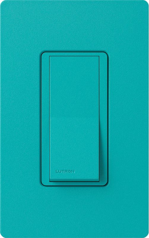 Lutron CA-1PSH Claro Single Pole Designer Switch Turquoise Lighting Sale $11.92 ITEM: bci1855879 ID#:SC-1PS-TQ UPC: 27557265058 :
