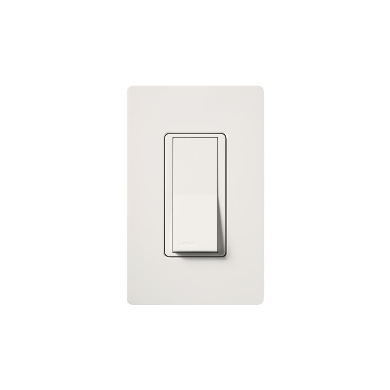 Lutron CA-1PSNL Claro Single Pole Designer Switch with Locator Light