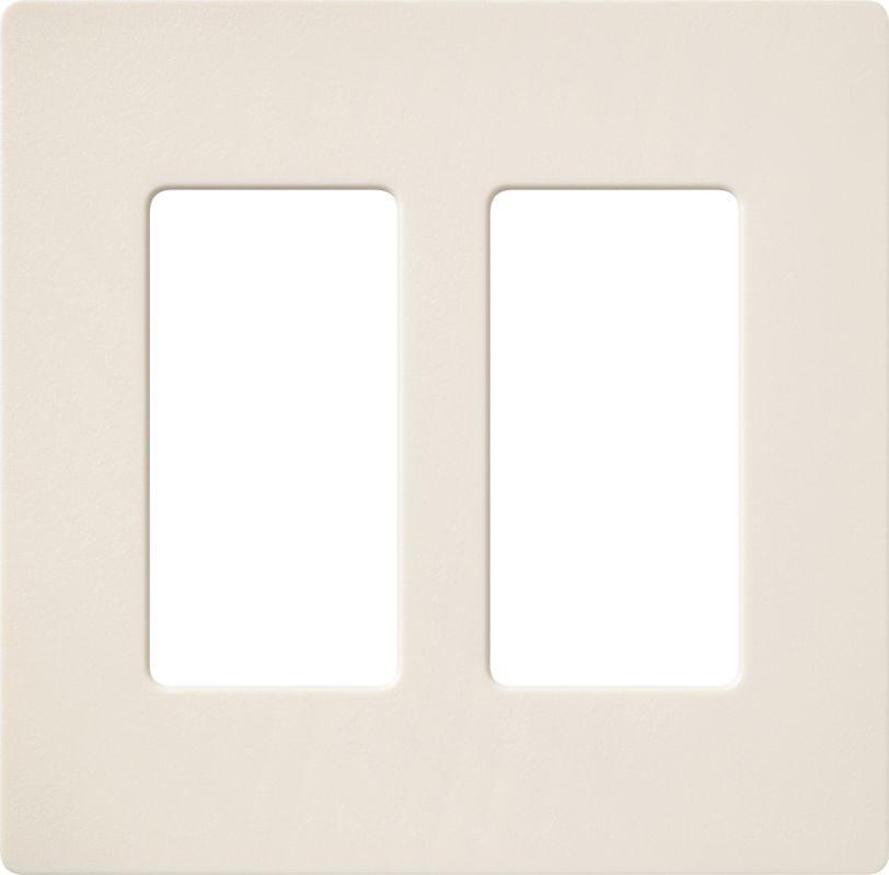 Lutron CW-2 Claro Two Gang Designer Wall Plate Eggshell Wall Controls Sale $12.44 ITEM: bci1855895 ID#:SC-2-ES UPC: 27557508490 :