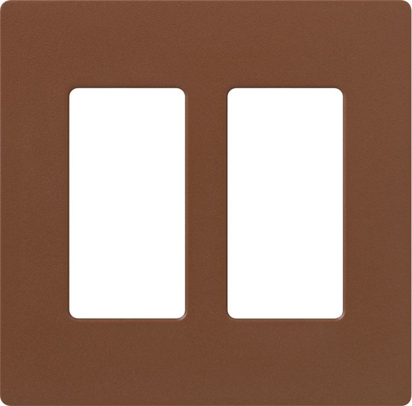 Lutron CW-2 Claro Two Gang Designer Wall Plate Sienna Wall Controls Sale $12.44 ITEM: bci1855906 ID#:SC-2-SI UPC: 27557175630 :