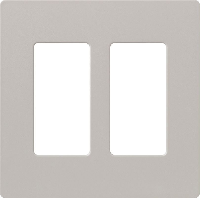 Lutron CW-2 Claro Two Gang Designer Wall Plate Taupe Wall Controls Sale $12.44 ITEM: bci1855910 ID#:SC-2-TP UPC: 27557475150 :